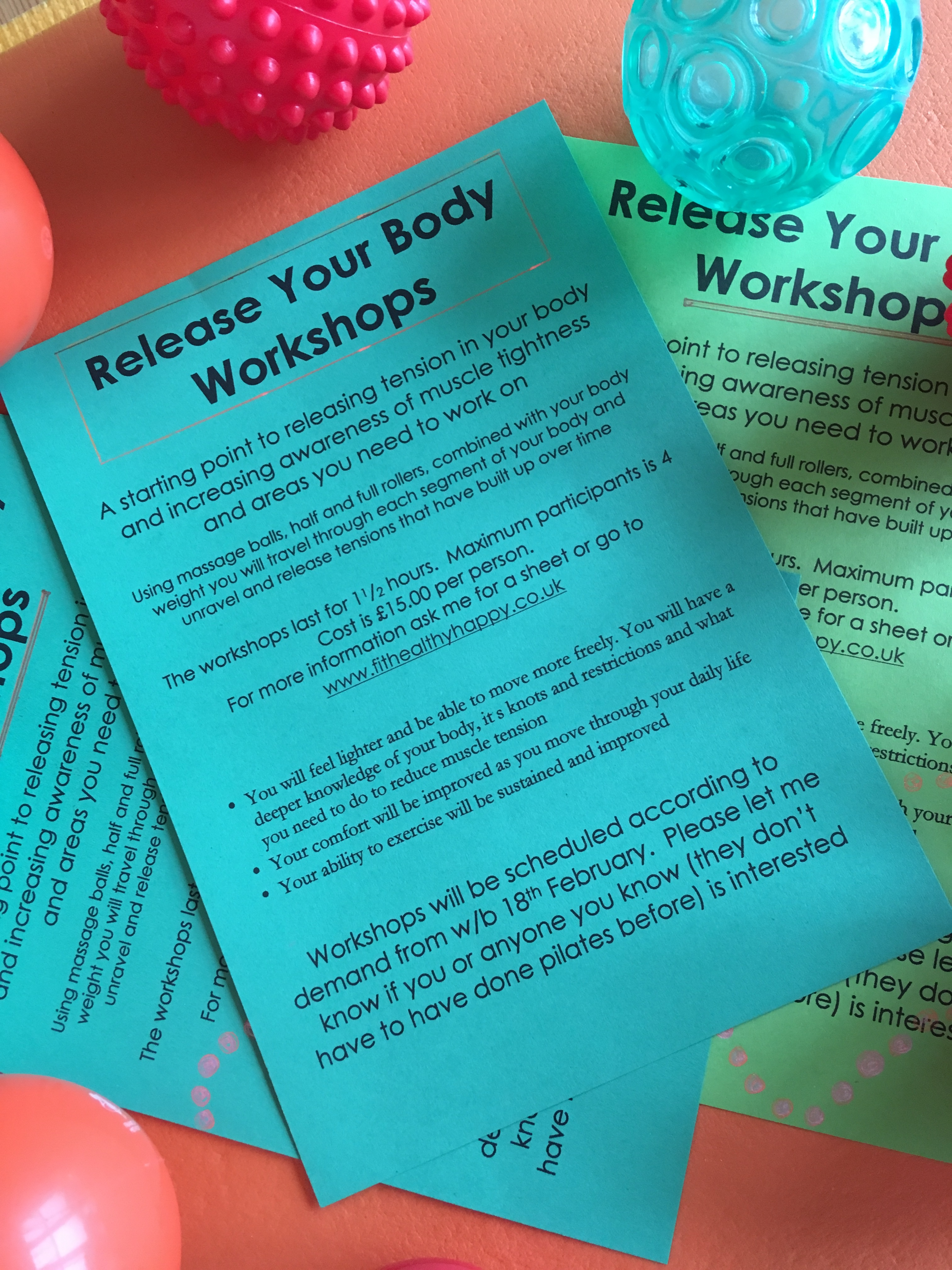 Release your body workshops